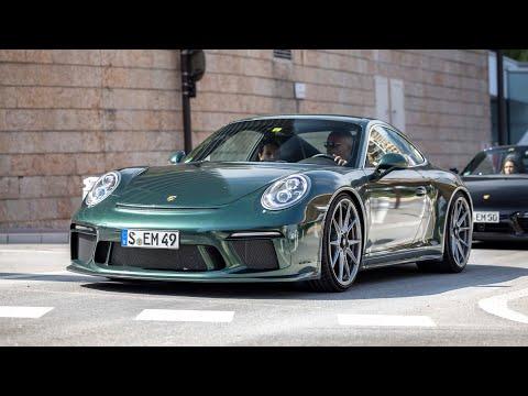 Supercars in Monaco 2021 - VOL. 2 (918 Spyder, Liberty Walk 458, 600LT, 992 GT3, Capristo Scuderia)