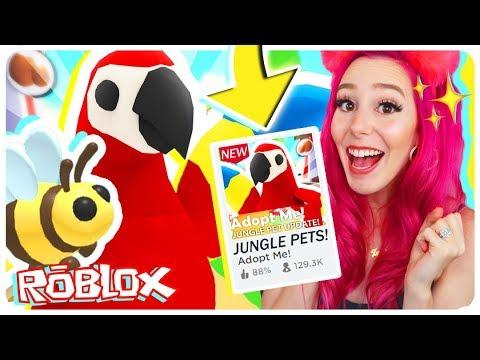 NEW ADOPT ME JUNGLE PET UPDATE! Jungle Pet Update In Adopt