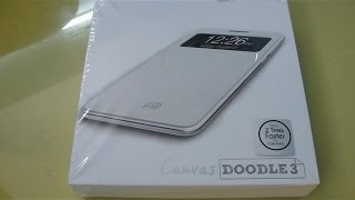 Micromax A102 Canvas DOODLE 3 Unboxing