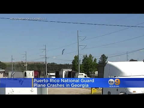 Security Video Captures Deadly Puerto Rican National Guard Crash