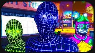 Leuchtende GTA Online Spieler haben lustige Autounfälle!