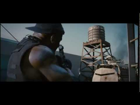 The Expendables 2 - Movie CLIP - Motorcycle [HD] Subs[Eng]