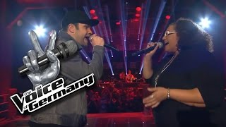 Back to Black- Amy Winehouse | Tiffany Kemp vs Konstantin Kuhn Cover | The Voice of Germany | Battle