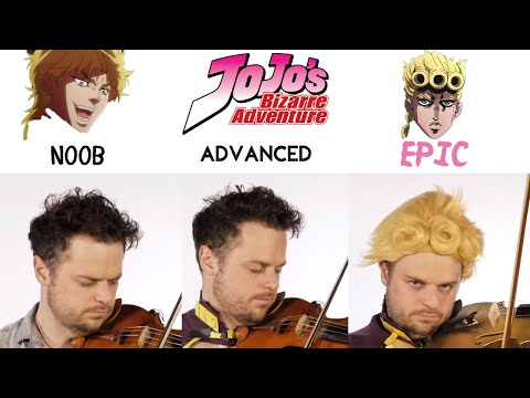 5 Levels Of Giorno's Theme: Noob To Epic