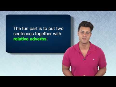Everyday Grammar: Relative Adverbs