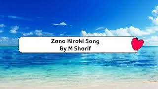 Hausa Lyrics Song | Zana Kiraki Song | Umar M Sharif Latest Songs