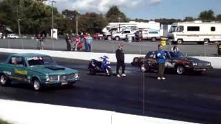 Cecil County Dragway $10,000 Last chance race finals Eric Tenney 1964 Plymouth Valiant