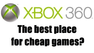 Where To Buy Cheap Xbox 360 Games -  #askjimmylog