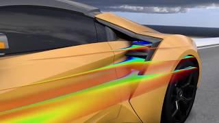 슈퍼카의 공기역학 시뮬레이션, 시뮬리아 파워플로우