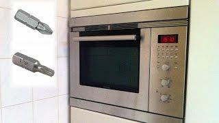 Vervangen ovenlamp van de Siemens Bosch Microwelle plus