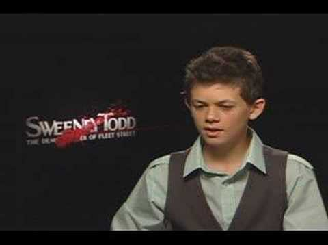 Ed Sanders interview for Sweeney Todd
