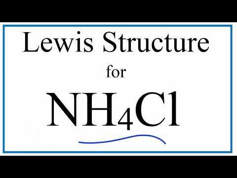 NH4Cl Lewis Dot Structure (Ammonium Chloride) - YouTubeYouTube