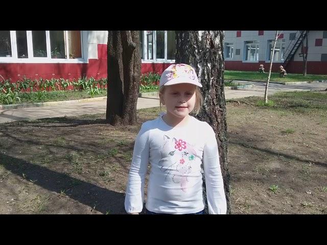 Изображение предпросмотра прочтения – АнастасияМельникова читает произведение «Травка зеленеет» А.Н.Плещеева