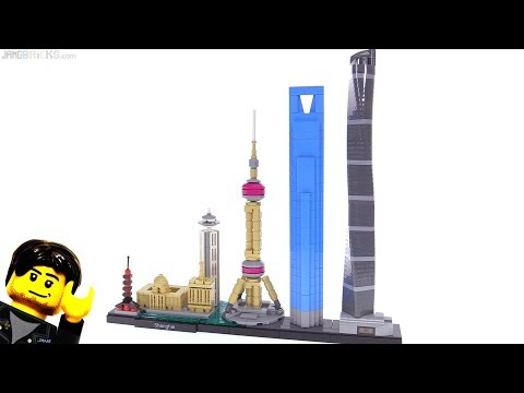 LEGO Architecture Shanghai skyline set review 21039 🇨🇳