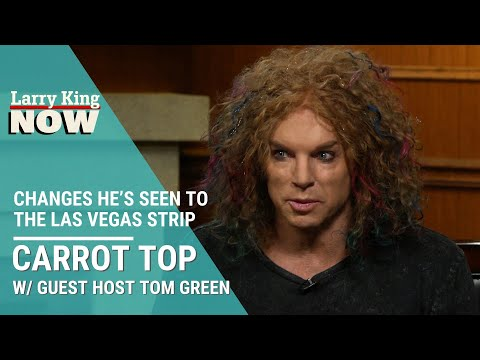 Long-Time Vegas Comedian Carrot Top On Changes He's Seen To The Strip
