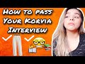 Korvia Consulting Interview, Questions & Prep | Teaching English in Korea