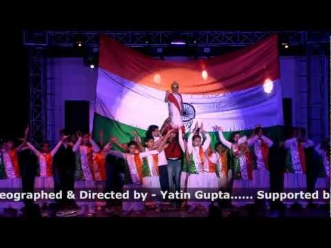 vande mataram ar rahman patriotic performance by step2step dance studio,09888697158