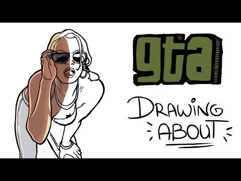 GRAND THEFT AUTO (GTA) | Drawing About
