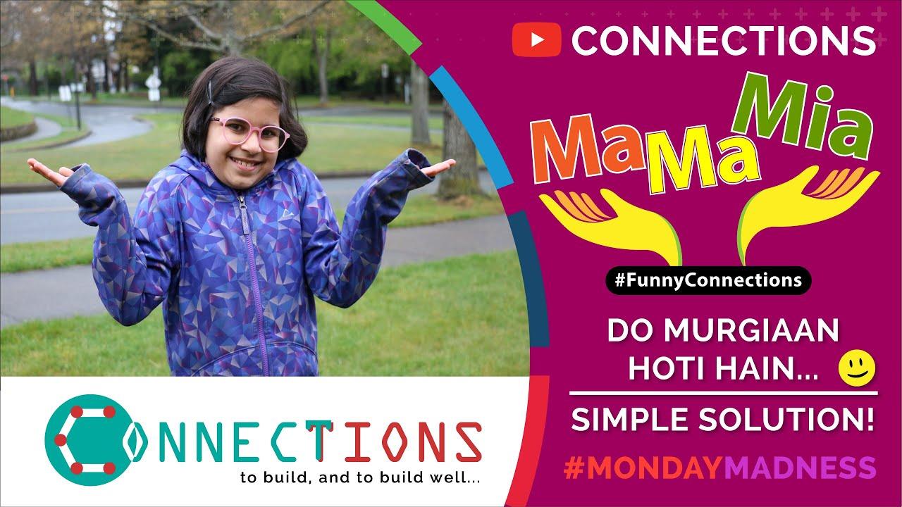 MamaMia - Ep 4 (Urdu/Hindi) - Do Murgiaa'n Hoti Hain - Simple Solution :) Let's Laugh Together