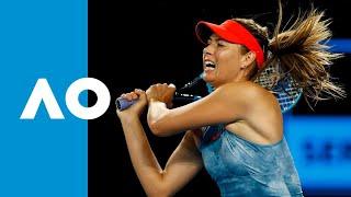 Maria Sharapova v Rebecca Peterson match highlights (2R) | Australian Open 2019