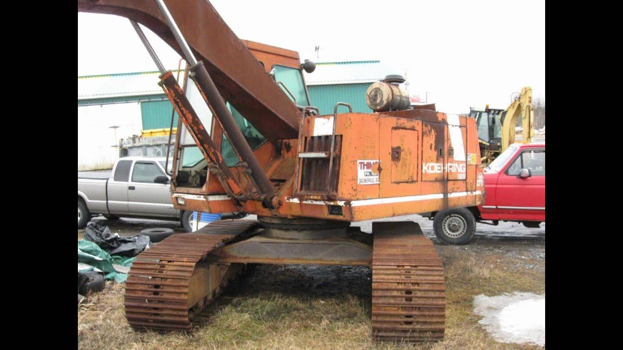 Old Heavy Equipment : Vintage heavy equipment youtube