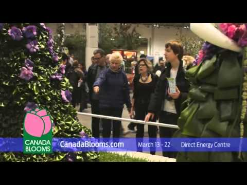 Canada Blooms 2015 TV commercial