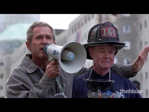 Former FDNY firefighter tells the story behind iconic moment following 9/11 attacks