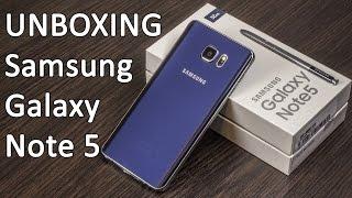 Samsung Galaxy Note 5 розпакування і перші враження. Перший досвід покупок в США від FERUMM.COM