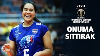 Onuma Sittirak SUPER SPIKER (อรอุมา สิทธิรักษ์) I Volleyball World Championship 2018