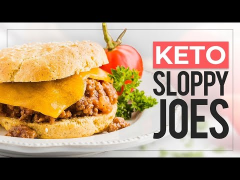 keto-sloppy-joes-on-top-of-easy-keto-hamburger-buns-|-30-minute-keto-dinner-recipe