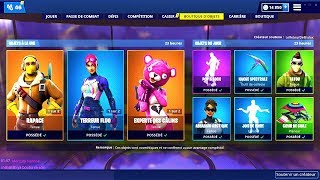 BOUTIQUE FORTNITE du 25 Avril 2019 ! ITEM SHOP April 25 2019 !