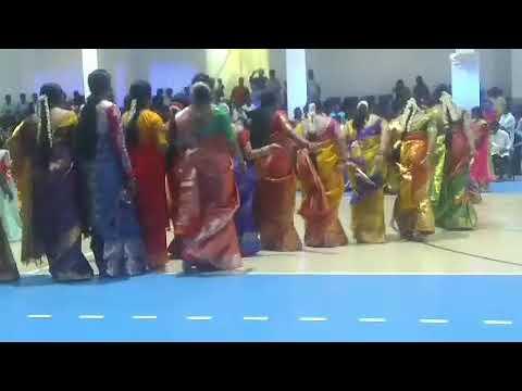 Muscat Bathukamma Sambaralu 4 Oct 2019