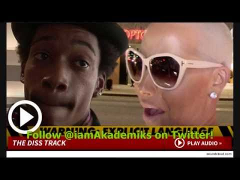 Wiz Khalifa Describes Amber Rose as COMMUNITY P*SSY in new Song.