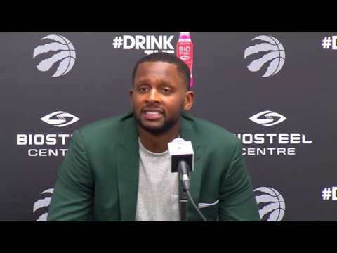 Raptors Press Conference: C.J. Miles - July 18, 2017