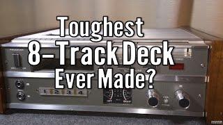 Rare Roberts Akai 848X 8-Track Tape Cartridge Player