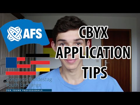 CBYX APPLICATION TIPS! STUDY ABROAD FOR FREE IN GERMANY!