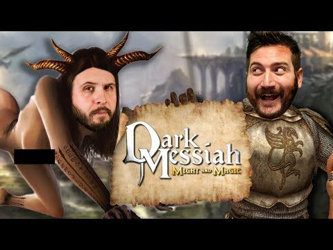 KNIGHTS OF THE POUND TABLE - Dark Messiah: Might and Magic Gameplay Part 1