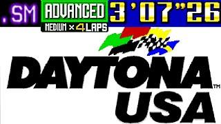 Daytona USA - Advanced Course (Dinosaur Canyon)