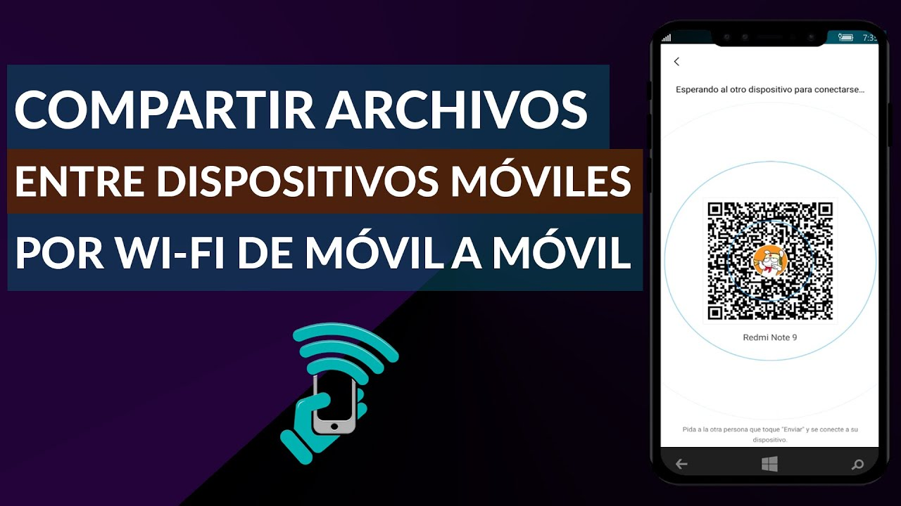 Cómo Compartir Archivos Entre Dispositivos Móviles por WiFi - De Celular a Celular
