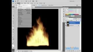 Эффект огня в Photoshop(В данном видеоуроке мы расскажем как нарисовать реалистичное пламя в Photoshop. http://youtube.com/teachvideo - наш канал..., 2012-01-17T22:03:59.000Z)