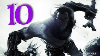 Darksiders 2 Walkthrough / Gameplay Part 10 - Karkinos the Crab Monster Thing