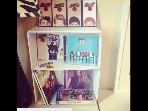 CD Shelf DIY | Ashley