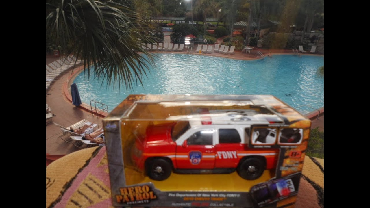 New Chevy Truck >> OPENING FIRE DEPARTMENT OF NEW YORK CITY FDNY 2010 CHEVY TAHOE TOY - YouTube