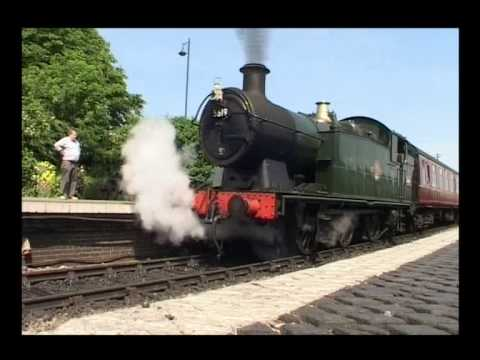 NNR Steam Train GWR 52XX (56XX) 29th June 2013