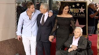 Michael Douglas Hollywood Walk of Fame Star Unveiling Ceremony