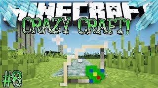 """New Over-Powered Bow!"" - Minecraft: Crazy Craft! Crystal Dimension [SEASON 2] - #8"