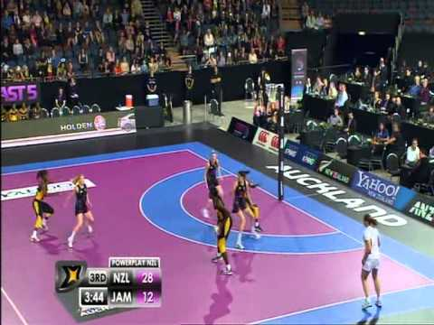 Fast 5 Netball: New Zealand Vs Jamaica
