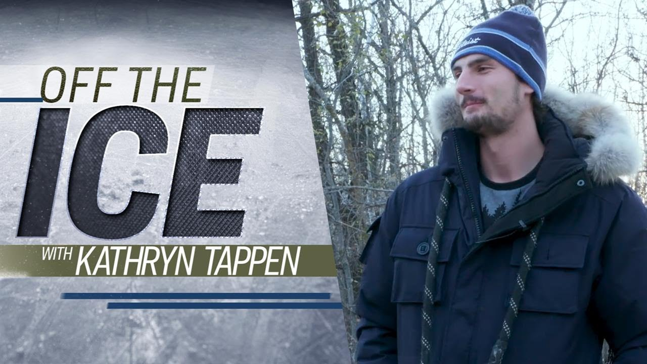 Winnipeg Jets' Hellebuyck talks playoffs and his pregame rituals | Off the Ice with KT | NHL on NBC