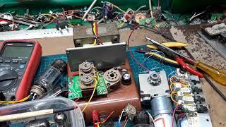 진공관, 모터, 저항 등을 이용한 직/병렬 연결, 전압…