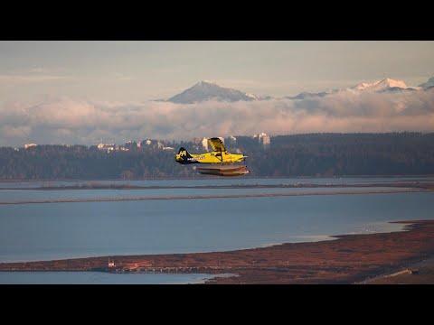 Electric seaplane takes flight